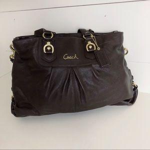 Coach Ashley Leather Bag